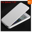 Luxury Retro PU Leather Case For iphone 5 5S 5G Flip Crazy Horse Cover ( color 2