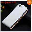 Luxury Genuine Leather Flip Cover Case For Iphone 5 5S 5g  (color 7