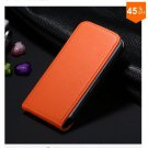 High-End Design Vertical Fip Genuine Leather Case for iPhone 4 4S 4g   (color  8