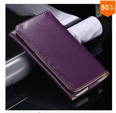 Litchi Structure Case for Samsung Galaxy S3 S4 S5 Leather Cover for iphone 4 4s 5 5s  (color 4