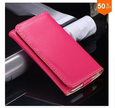 Litchi Structure Case for Samsung Galaxy S3 S4 S5 Leather Cover for iphone 4 4s 5 5s  (color 6