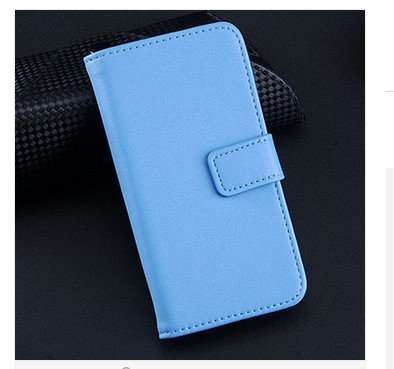 Korean Style Flip Genuine Leather Case for Ipod Touch 5  (color 4