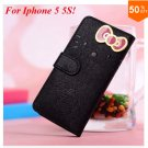 PU Leather Case for iphone 5 5s 5g With Card Slot