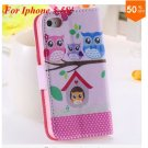 Cute Animal Structure! Flip Wallet Case for iPhone  5 5s 5g   (color 2