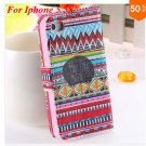 Cute Animal Structure! Flip Wallet Case for iPhone  5 5s 5g   (color 9