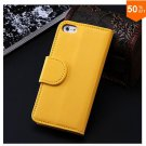 Photo Frame Flip PU Leather Cover Case For Iphone 5C With ID Credit Card Slots ( color 6
