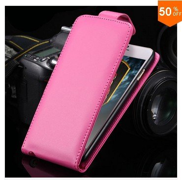 New Coming Flip  Case For Iphone 6   5.5''  PU Leather Phone Shell With Smart Buckle (color 6