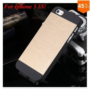 New! Luxury Metal Brush Case for iphone 4 4s 4g    (color 4