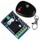 DC12V Single Channel Wireless Remote Control Switch Security System - Ellipse Style
