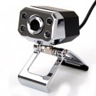 8.0 Mega Pixel HD Camera Webcam Built-in Microphone