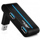 High Speed Ultra-thin 4-Ports USB3.0 Hub Compatible USB2.0 1.1