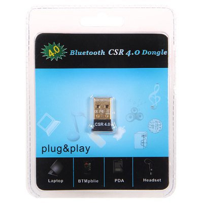Mini Wireless Adaptor USB Bluetooth CSR Version 4.0 Dongle
