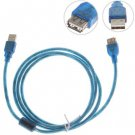Applied 5M High Speed USB 2.0 Extended Cable Male to Female (Blue)