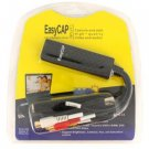 Black EasyCAP USB Video Adapter With Audio