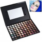 Makeup 88 Colors Eye Shadows Palette with Mirror and Two Applicators Inside