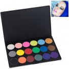 Multifunction Rectangle Box Makeup 18 Colors Eye Shadows Palette for Ladies