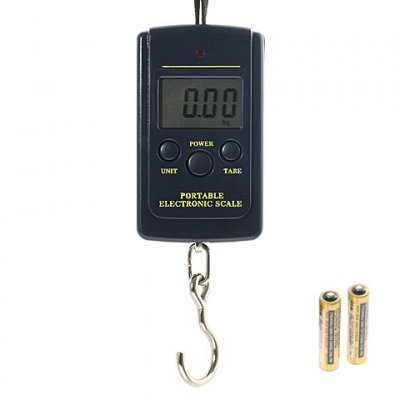 Handheld Design Portable Digital Electronic Scale-Black