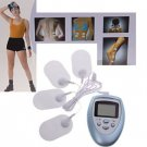 New Arrival Electronic Pulse Burn Fat Muscle Slimming Massager (Blue)