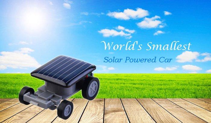 World's Smallest Solar Power Mini Car