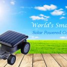 World's Smallest Solar Power Mini Car