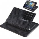 High Quality Car Holder with Anti-slip Mat for GPS/ Cell Phone (Black)