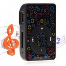 Mini Style Digital MP3 Player with TF Card Solt, Clip, Built-in Lithium Battery