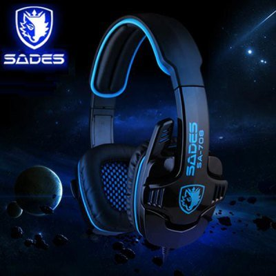 Sades SA-708 Hi-Fi Gaming Headset/ Headphone
