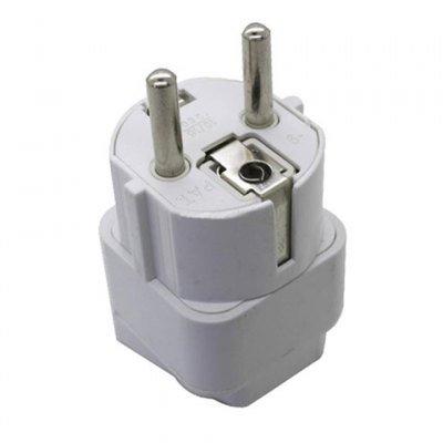 White New Universal Plug Socket Adapter Convertor European Standard