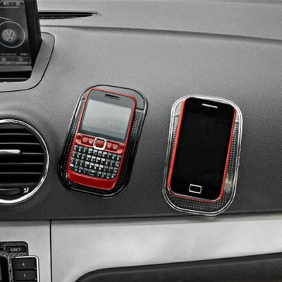 Magic Sticky PU Anti-Slip Car Pad for Cell Phone, MP3/MP4, Glasses etc