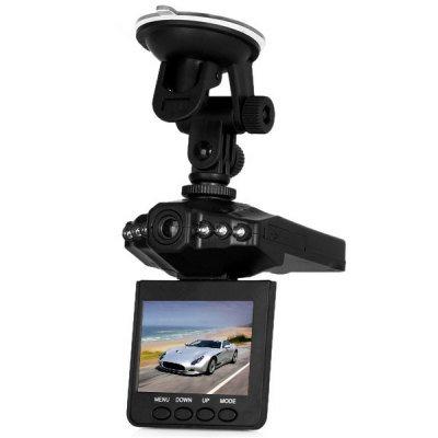 F198B 2.5 Inch LCD 6 LEDs IR 120 Degree Lens Car Video Camcorder DVR Recorder