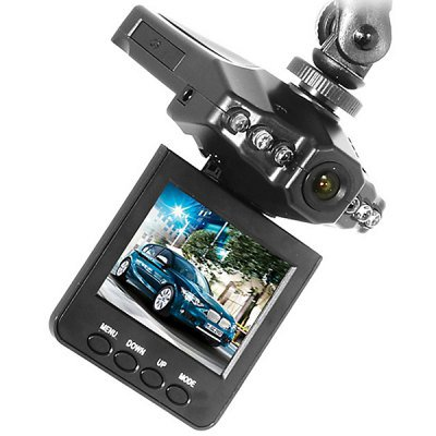 A198 HD Portable DVR Driving Recorder with 2.5 Inch LCD Display