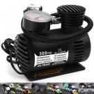 Car/Auto DC 12V 300 PSI Electric Pump Air Compressor/Tire Inflator