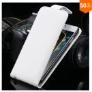 Flip Vertical Case For Iphone 6 5.5'' Plus Cover PU Leather  With Smart Buckle( COLOR  WHITE