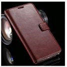 Crazy Horse Grain Full Wallet Case For Samsung Galaxy Note 4 IV 5.7''( COLOR  BROWN