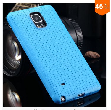 Soft Case For Samsung Galaxy Note 4 IV 5.7'' Cover!  ( COLOR  BLUE