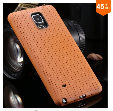 Soft Case For Samsung Galaxy Note 4 IV 5.7'' Cover!  ( COLOR  LIGHT BROWN
