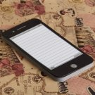 Novel for Black iPhone Shaped Notebook Notepad for Home and Office