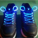 Halloween Party Unique Eye-catching Fashion LED Flashing Shoelaces for Night ( blue color