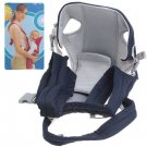 Portable Cozy Baby Carrier Infant Backpack Sling (Blue)