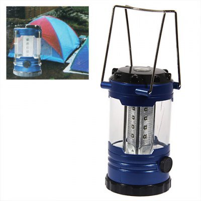 Solid Energy-efficient Led Light for Camping (Blue)