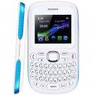 Quad Band Cell Phone D101 TV 2.0 inch Screen Analog TV Qwerty Keypad Bluetooth Camera