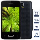 Unlocked Phone with 3.5 inch WVGA Screen FM MP3 Bluetooth Browse Alarm Calendar ( black