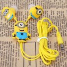 3.5mm In-ear Universal Earphone with Despicable Me The Minion Pattern