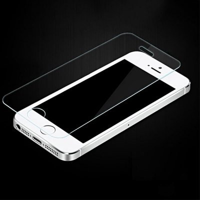 Ultrathin 0.33mm 9H Hardness 2.5D Tempered Glass Screen Protector for iPhone 5 5S 5C