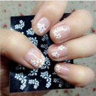 30 Sheets Floral Design 3D Nail Art Stickers Decals Manicure Decoration Beautiful Fashion
