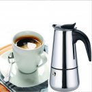 New 2 Cup Stainless Steel Moka Espresso Latte Percolator Stove Top Coffee Maker Pot #52419