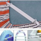 2 Sets, 8 x Bed Sheet Mattress Cover Blankets Grippers Clip Holder Fasteners Elastic Set #9505