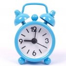 Mini Cartoon Dial Number Round Desktop Alarm Clock Clocks