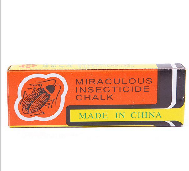 10 pieces  Miraculous Insecticide Chalk Kill Bug Flea Cockroach Ant Roaches Lice Odorless  #58314