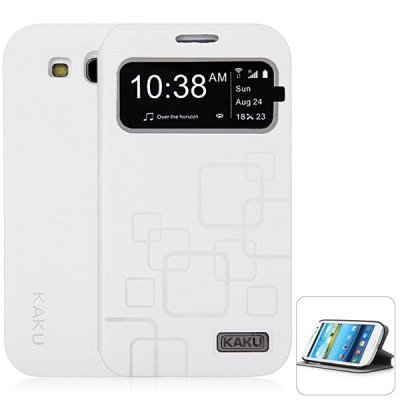 KAKU Practical PC and PU Cover Case for Samsung Galaxy S3 i9300  white